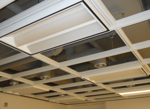 Hilti Anchors Amp Tools Simplify Ceiling Grid Installation