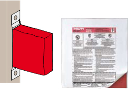 Hilti Cp 617 Firestop Putty Pad